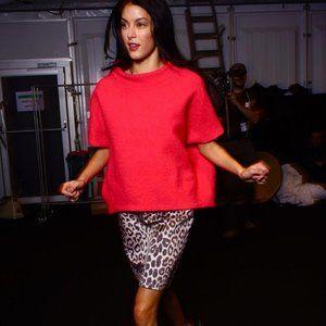 Laurèl German Leopard Print Retro Mini Skirt - 2/4